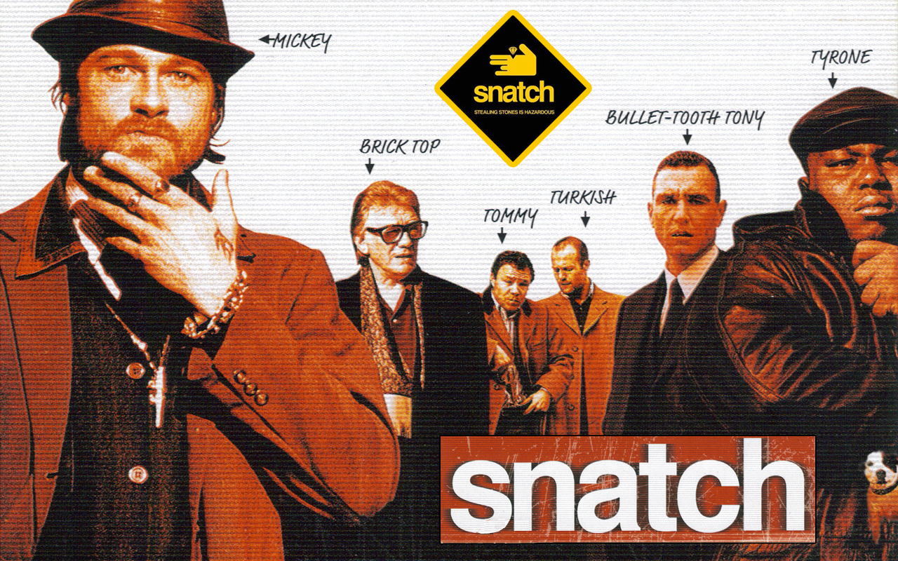 Logo du film snatch