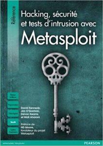 Livre sécurité informatique Metaploit