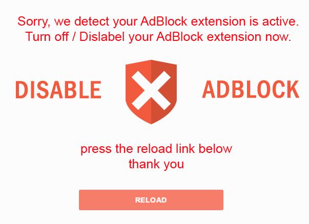 Bloqer les scripts anti Adblock