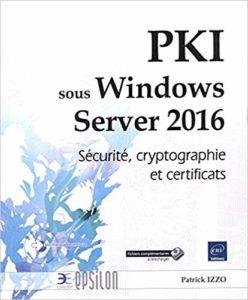 Livre PKI Windows Serveur 2016