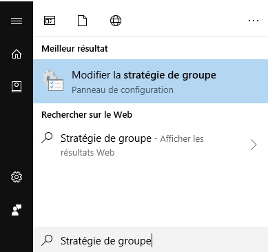 Parametres - Strategie de groupe
