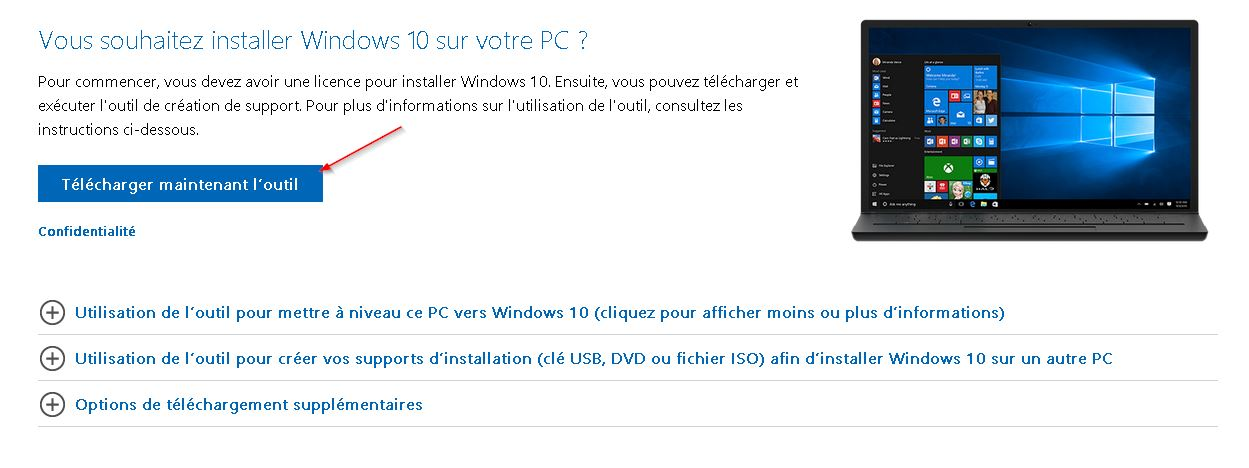 Télécharger Windows 10